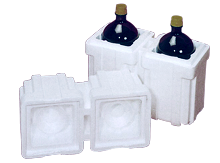 There are two moulding processes for EPS.