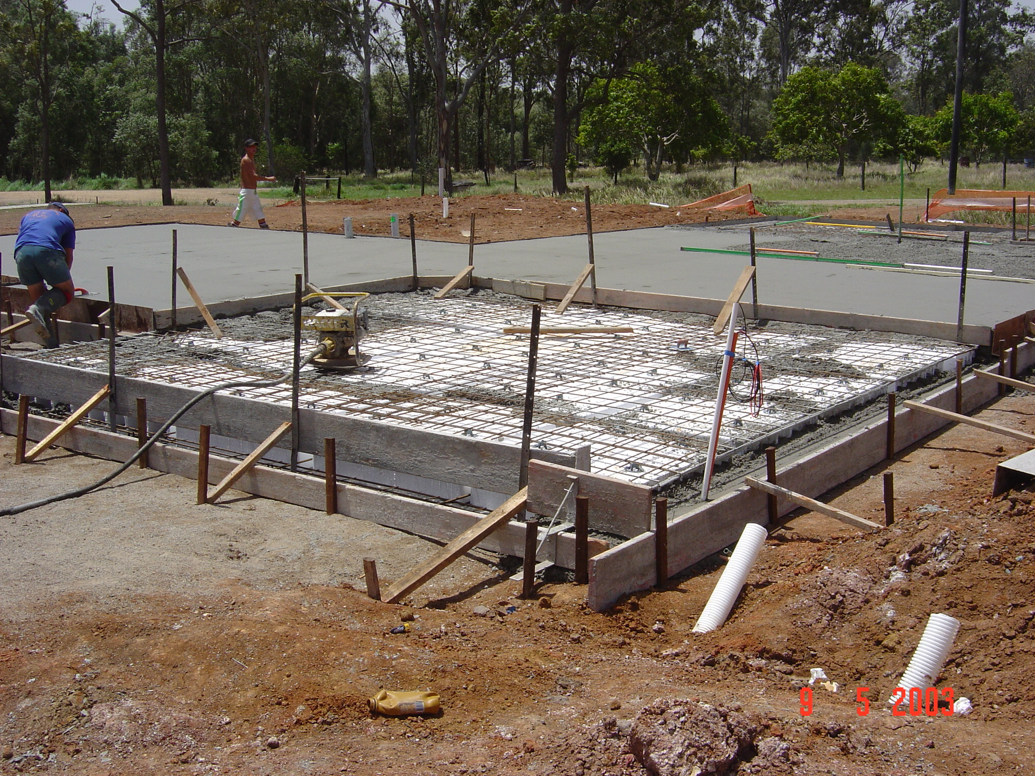 Eps pods and waffle raft slabs blog expanded polystyrene for How to clean concrete slabs