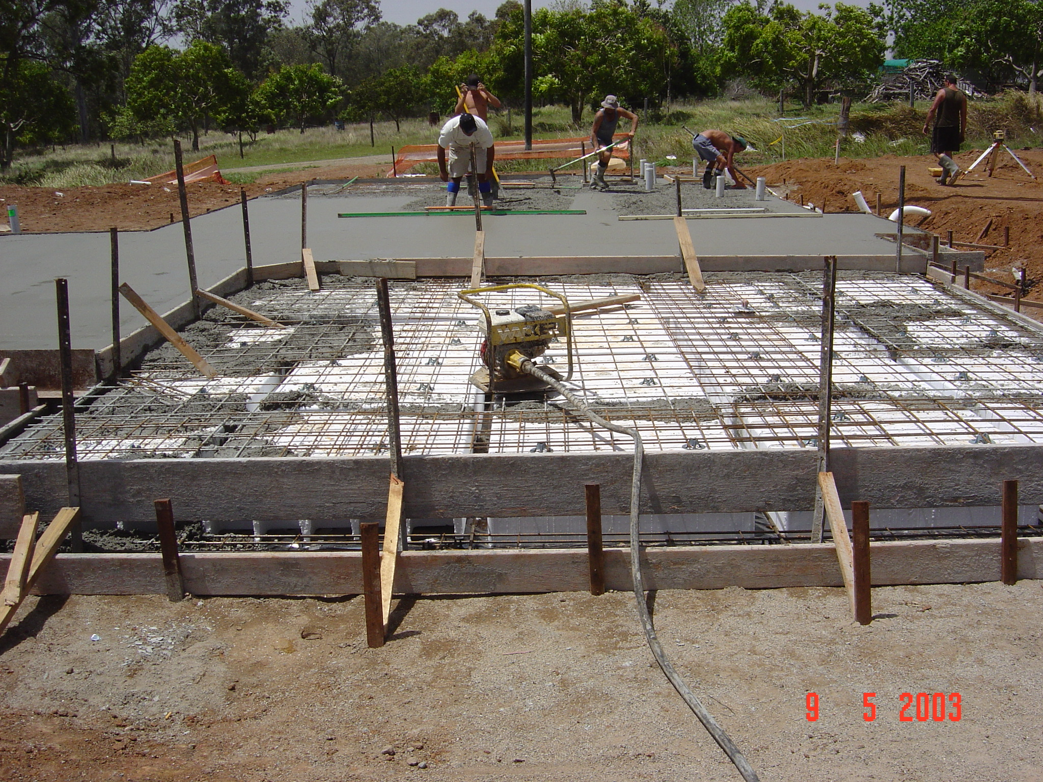 Foundation for a house made of foam blocks - the basis of durability of housing